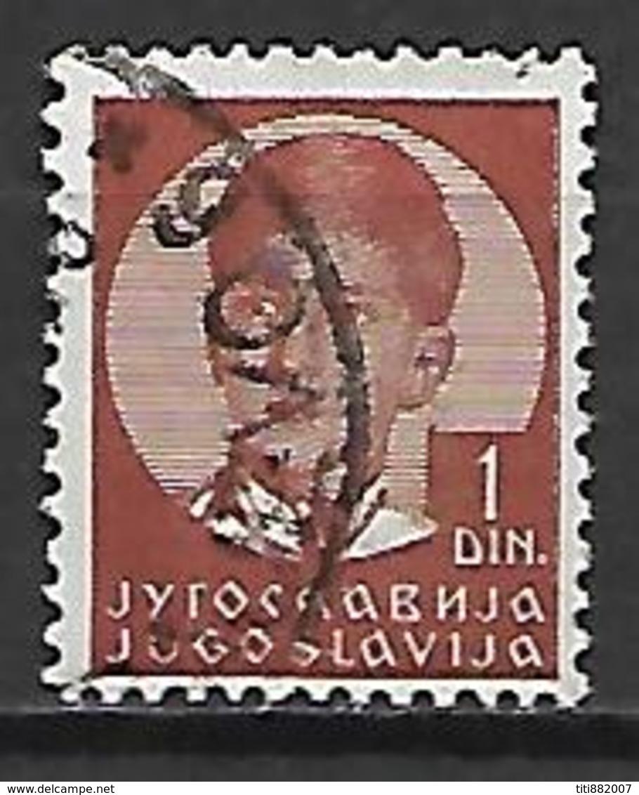 YOUGOSLAVIE  -   1935 .  Y&T N° 280 Oblitéré.   Pierre II - 1931-1941 Royaume De Yougoslavie