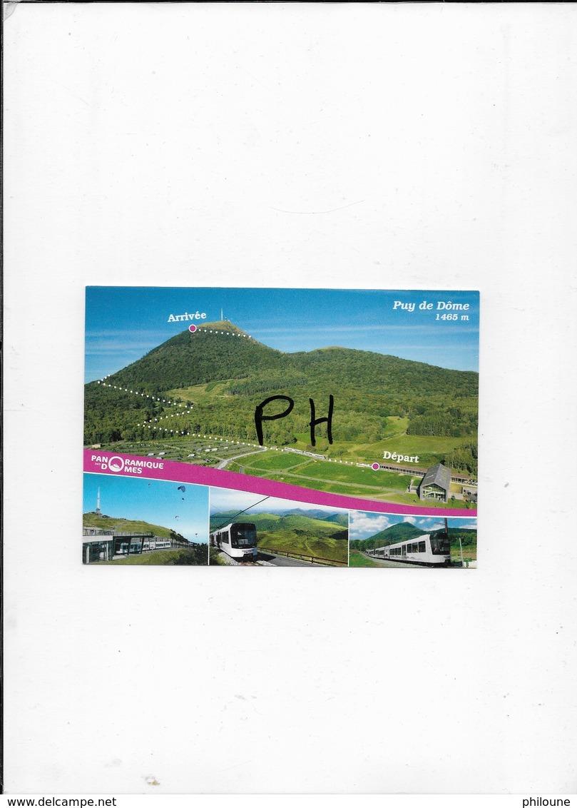 Le Train Du Puy-de-Dôme - Carte Multivues - Frankrijk