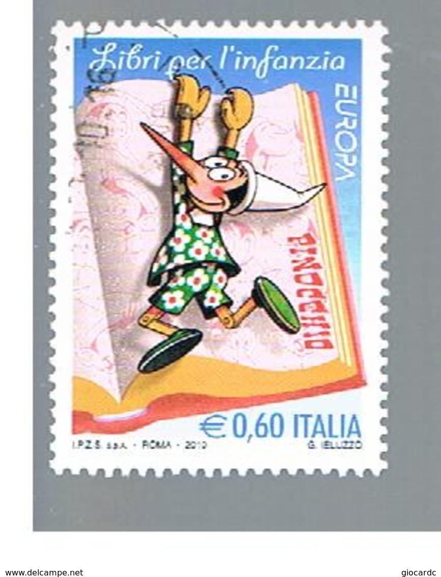 ITALIA REPUBBLICA  -   2010   EUROPA     -   USATO  ° - 6. 1946-.. República