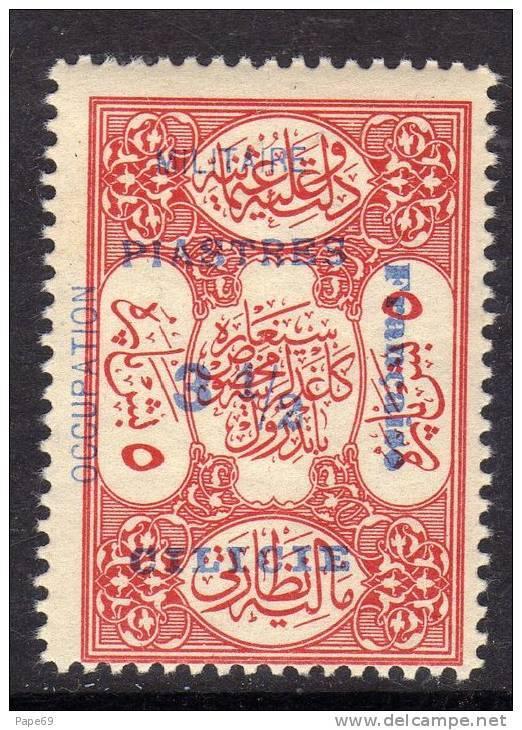 Cilicie N° 79 X   3 1/2 Pi Sur 5 Pa Rouge, Trace De Charnière SinonTB - Cilicia (1919-1921)