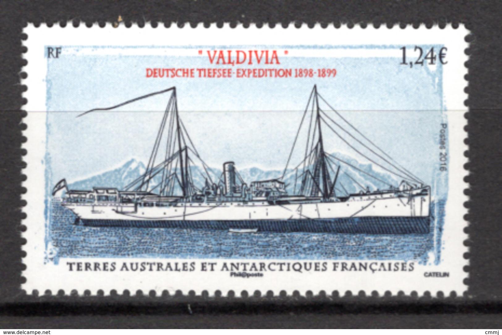 TAAF - 2016 - TERRE AUSTRALIANE E ANTARTICO FRANC. -  Mi. Nr.  924 - NH - (CW4755.35) - Terre Australi E Antartiche Francesi (TAAF)