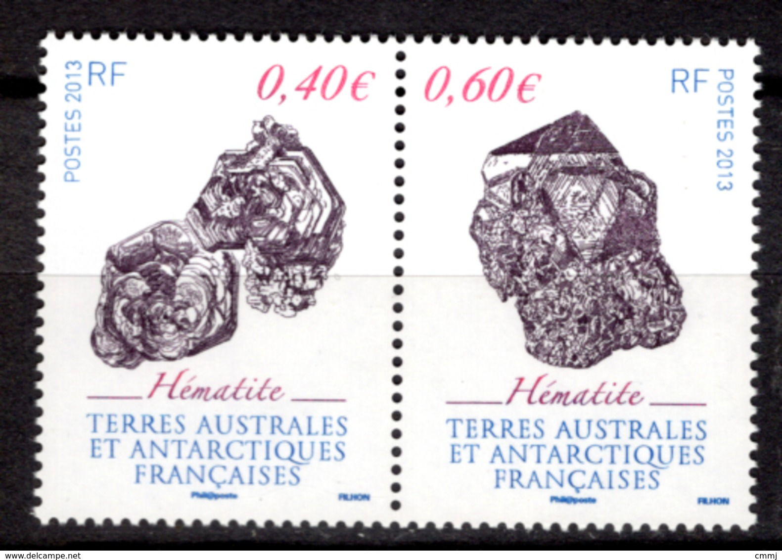 TAAF - 2013 - TERRE AUSTRALIANE E ANTARTICO FRANC. -  Mi. Nr.  797/798 - NH - (CW4755.35) - Terre Australi E Antartiche Francesi (TAAF)