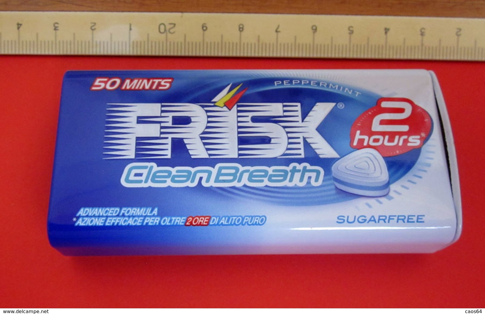 FRISK CLEAN BREATH 50 MINTS METAL SCATOLA - Scatole