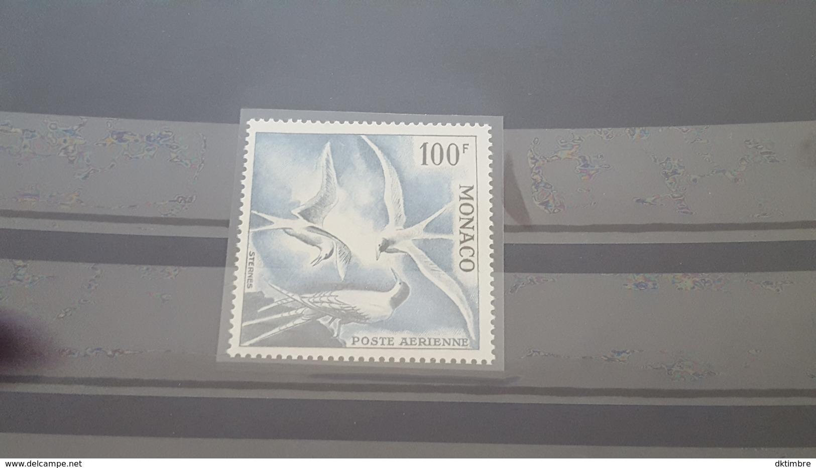 LOT 460854 TIMBRE DE MONACO NEUF** LUXE N°66 - Poste Aérienne