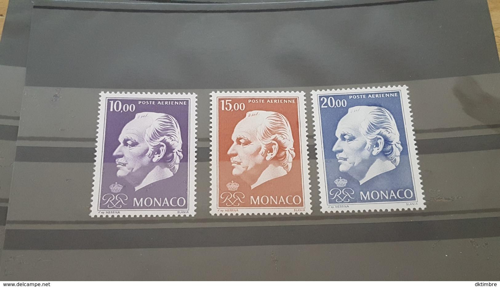 LOT 460864 TIMBRE DE MONACO NEUF** LUXE N°97 A 99 - Poste Aérienne