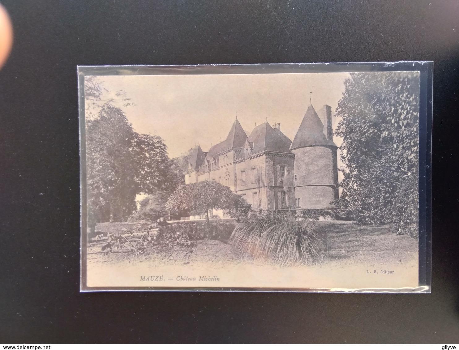CPA.(79) MAUZE SUR LE MIGNON.  Château Michelin.     (G Bis 818). - Mauze Sur Le Mignon