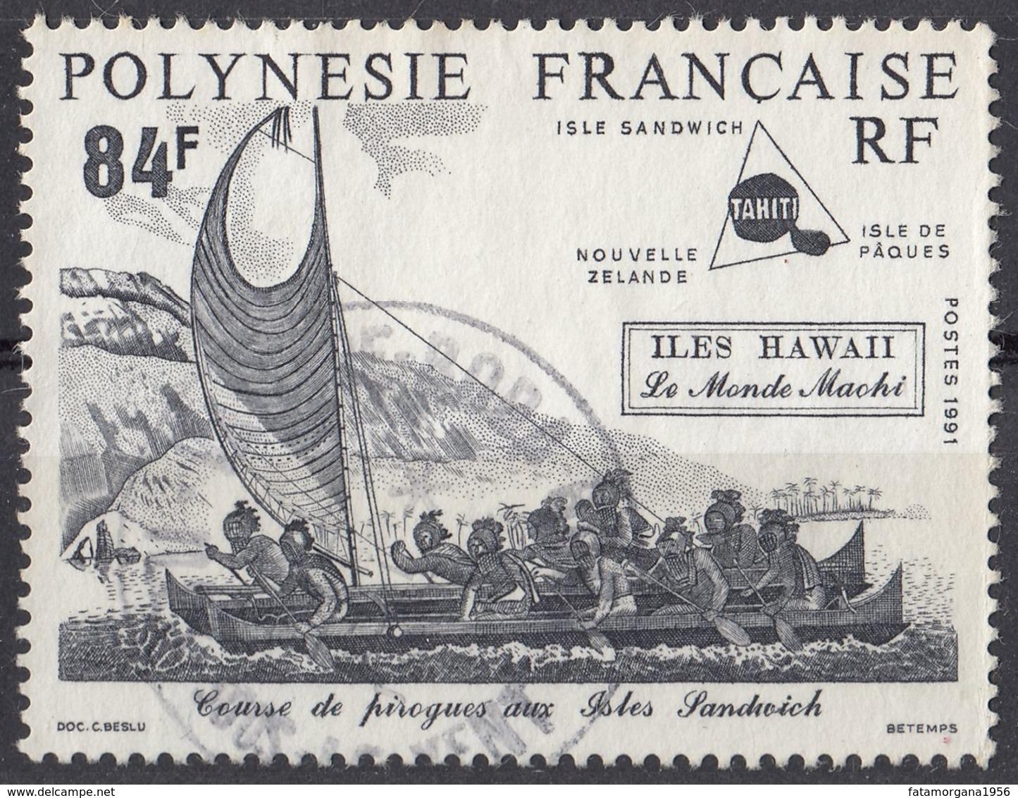 POLYNESIE Française - 1991 - Yvert 380 Usato. - Französisch-Polynesien