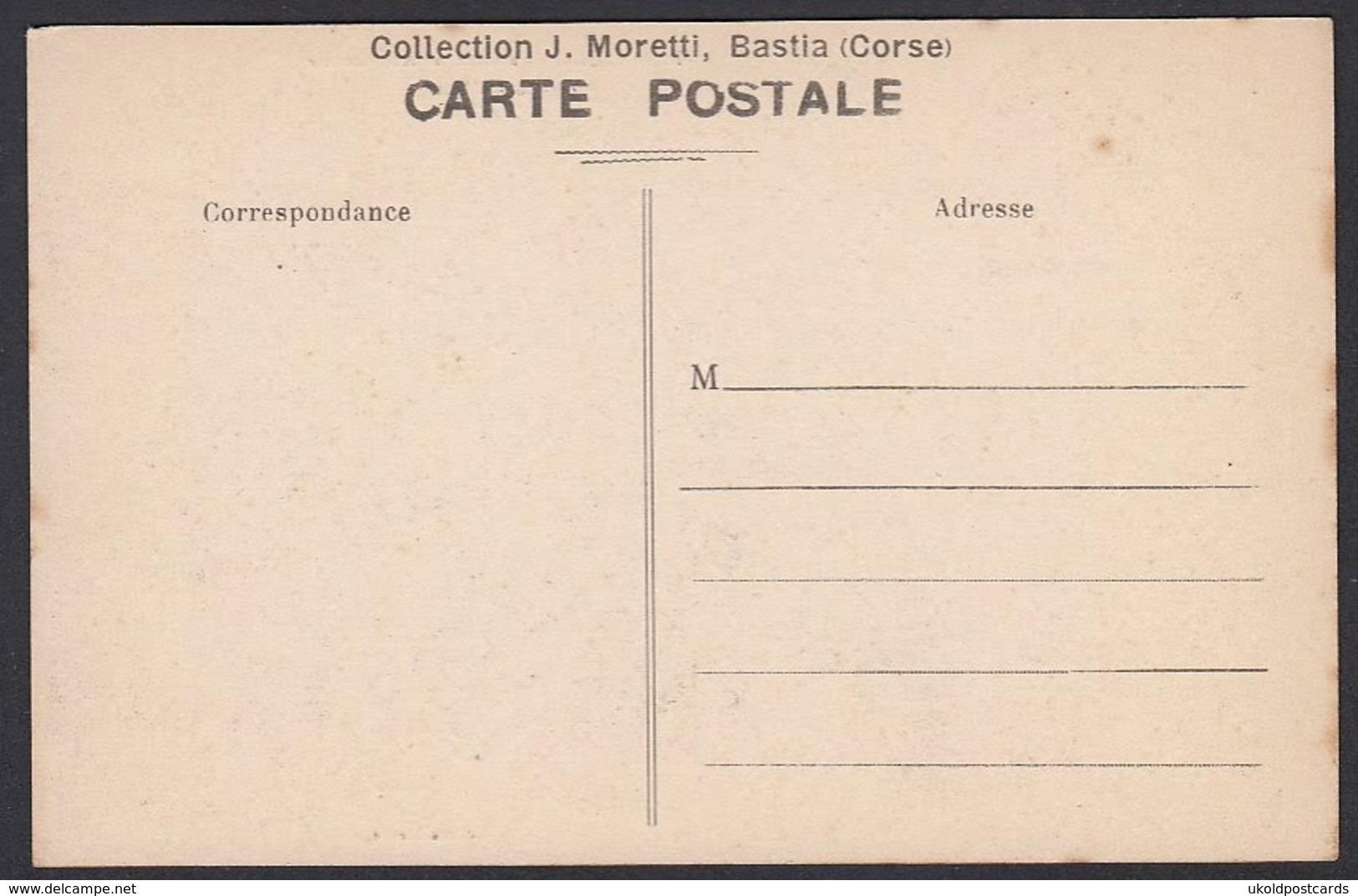CPA 20 ( 2A ) BONIFACIO, Le Courrier Automobile Prend Un Bain. - France