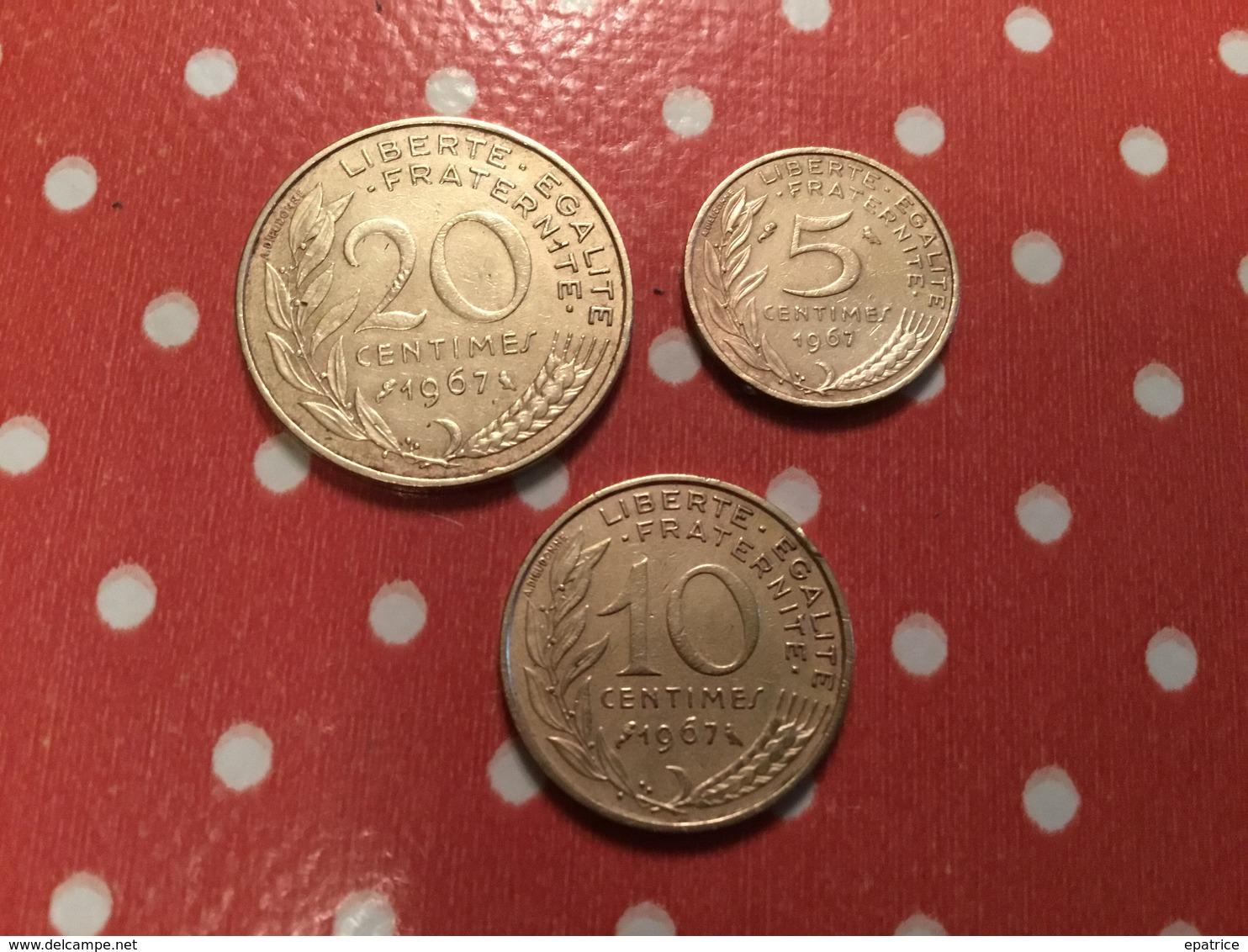 Lot De 3 Pièces - Monedas & Billetes