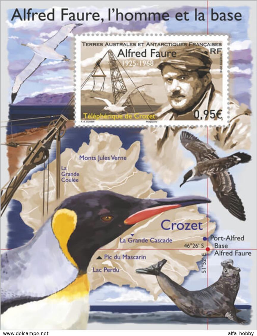 TAAF, Alfred Faure, 2018, Fauna, Block - Ongebruikt