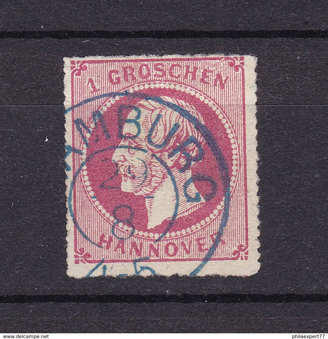 Hannover - 1864 - Michel Nr. 23 X - BPP Gepr. - 30 Euro - Hannover
