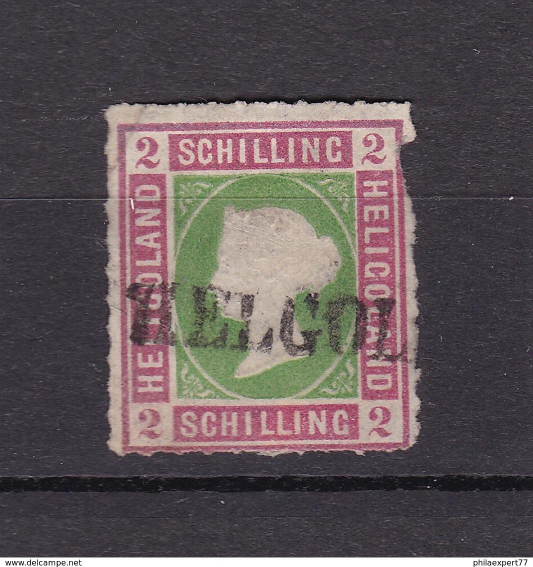 Helgoland - 1867 - Michel Nr. 3 - Gestempelt - 70 Euro - Helgoland