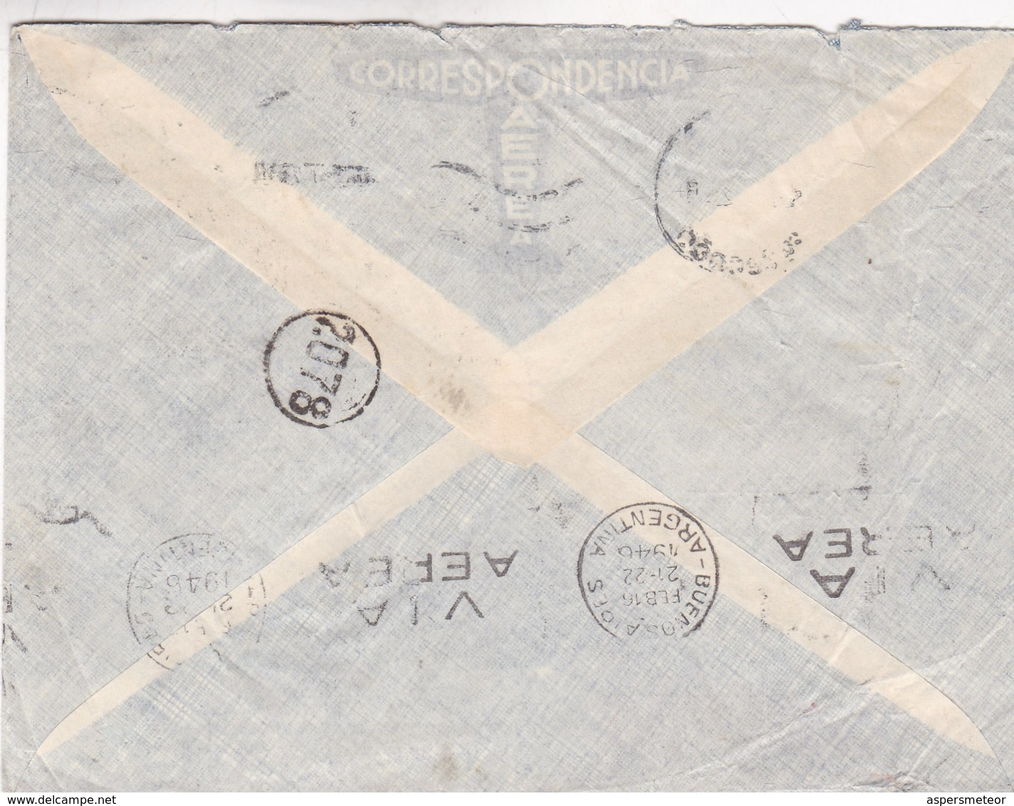 1945 COMMERCIAL COVER: W.SPORRI CIRCULEE ZURICH TO DUBENDORF - BLEUP - Switzerland