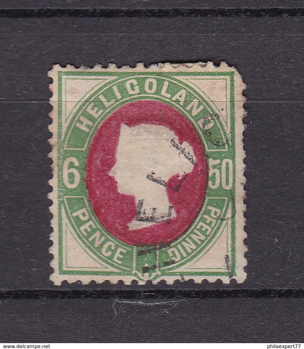 Helgoland - 1875 - Michel Nr. 16 A - Gepr. - 40 Euro - Helgoland