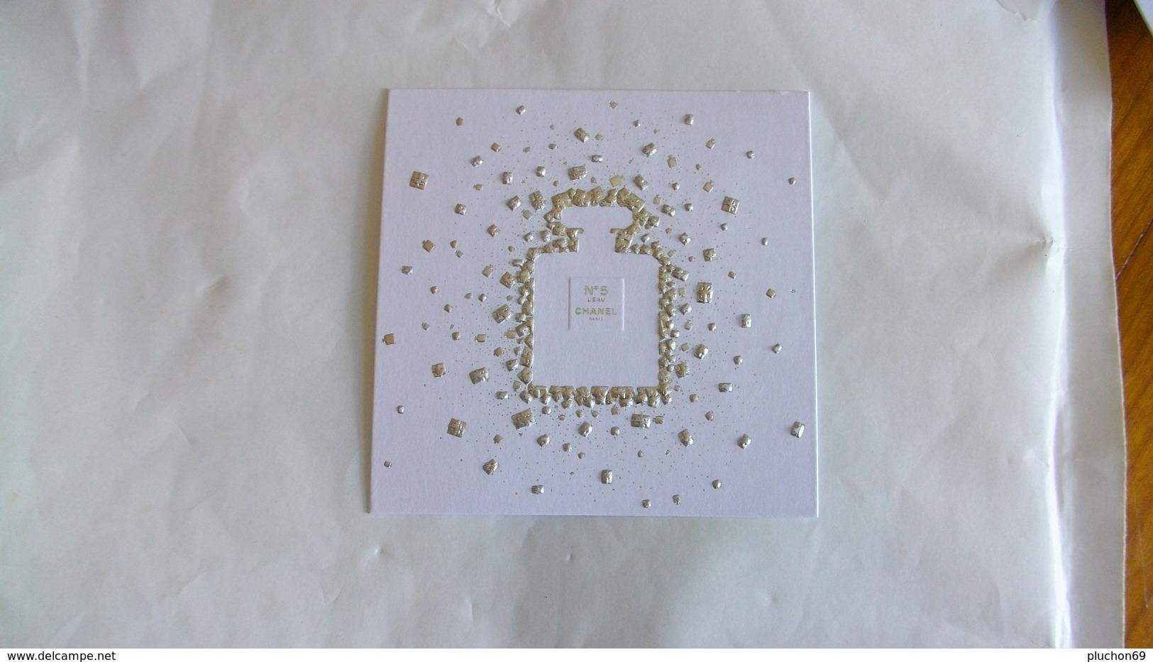 Carte Parfumée Chanel N°5 L'eau - Perfume Cards