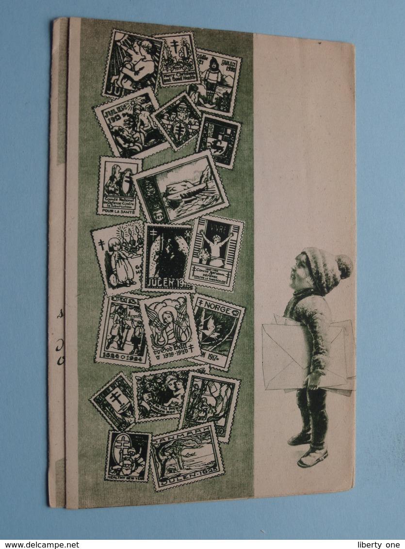 ANTITERINGZEGEL ( Folder / Dépliant ) Publi FYFFES Bananen ( Druk. O De Rycker Bruxelles ) > ( Voir Photo ) ! - Organizations