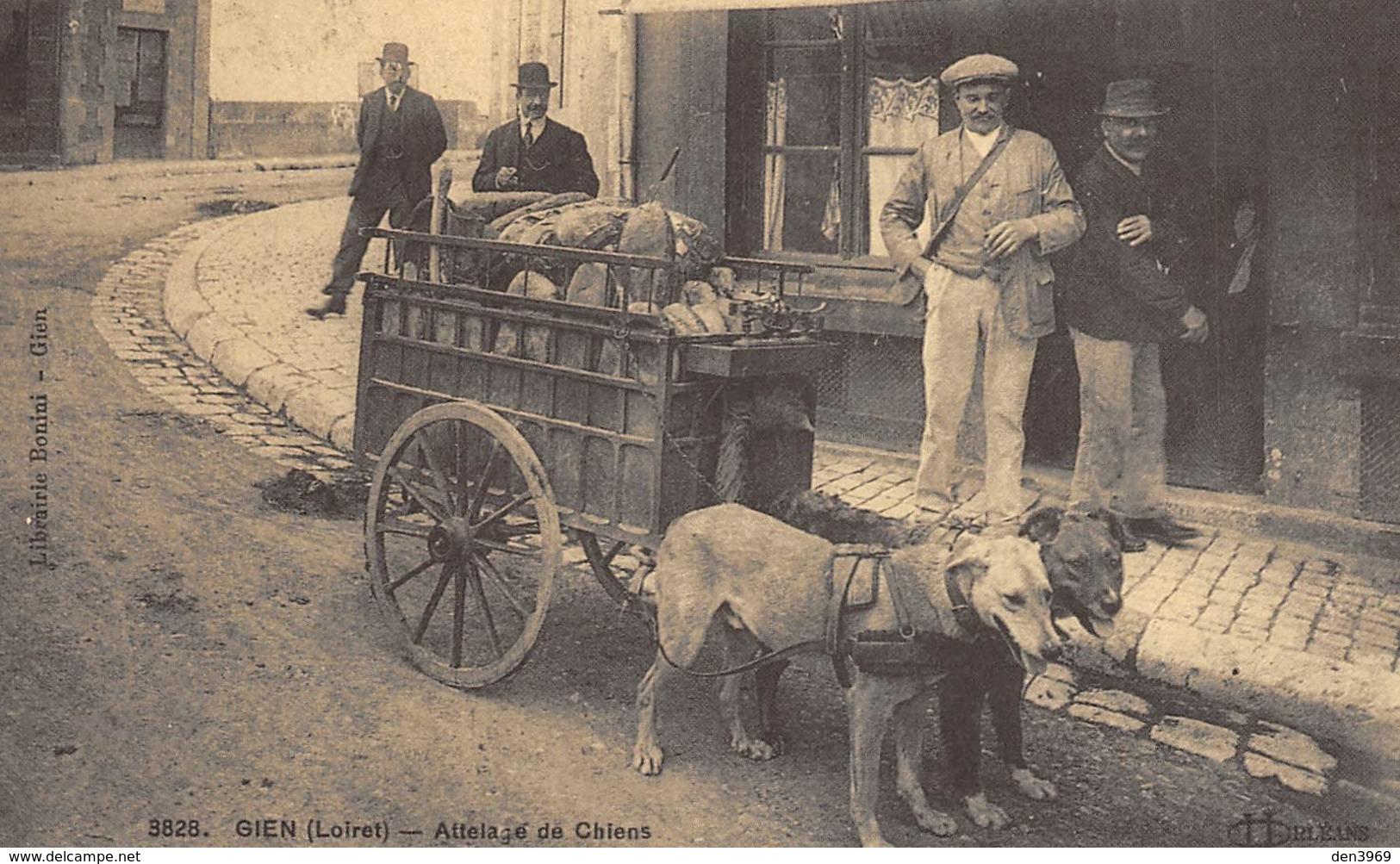 Gien - Attelage De Chiens - Boulanger - Cecodi N'701 - Gien