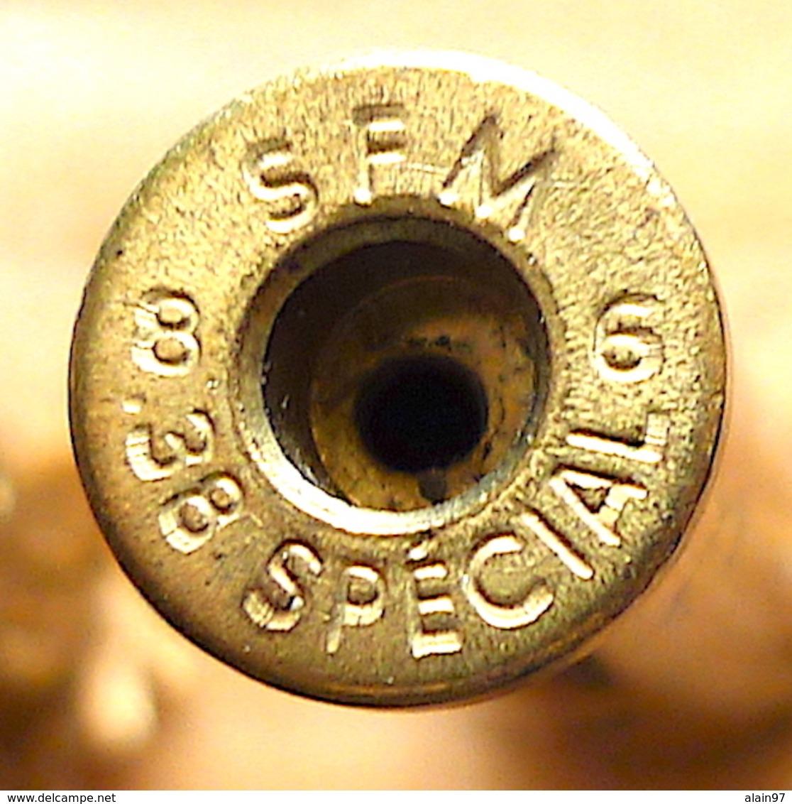 CARTOUCHE .38 SPÉCIAL SFM NEUTRALISÉE - Armes Neutralisées