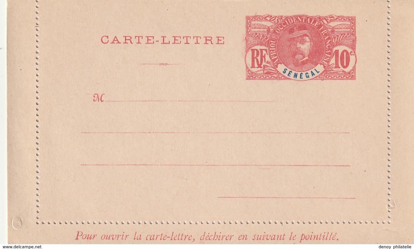 Sénégal Entier Postal - Carte Lettre   Neuf Ref  C 7 Acep Cote Année 2000 - Senegal (1887-1944)