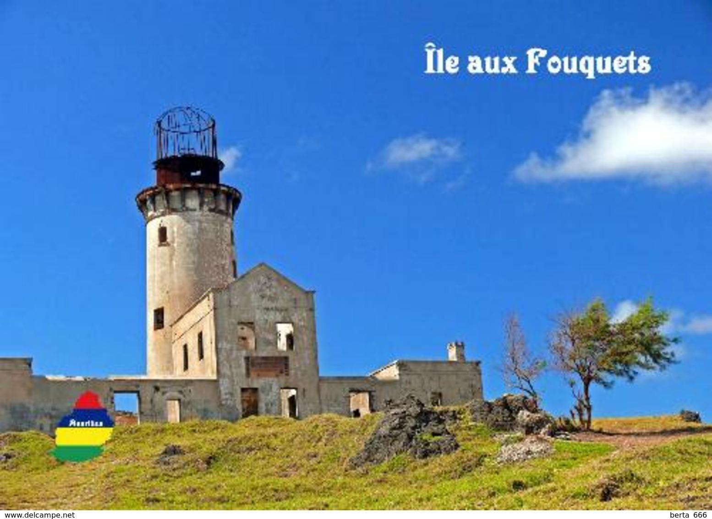Mauritius Ile Aux Fouquets Lighthouse New Postcard Maurice - Leuchttürme