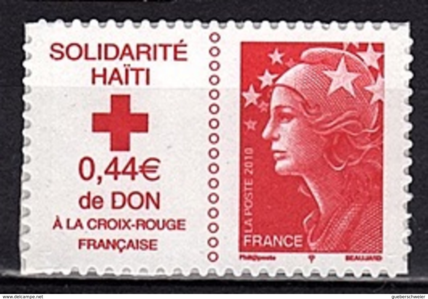 ADH 70 - FRANCE Adhésifs N° 388 Neufs** Surtaxe Haïti - Adhésifs (autocollants)