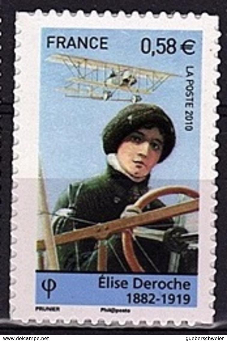 ADH 81 - FRANCE Adhésifs N° 485 Neuf** Aviatrice Elise Deroche - France