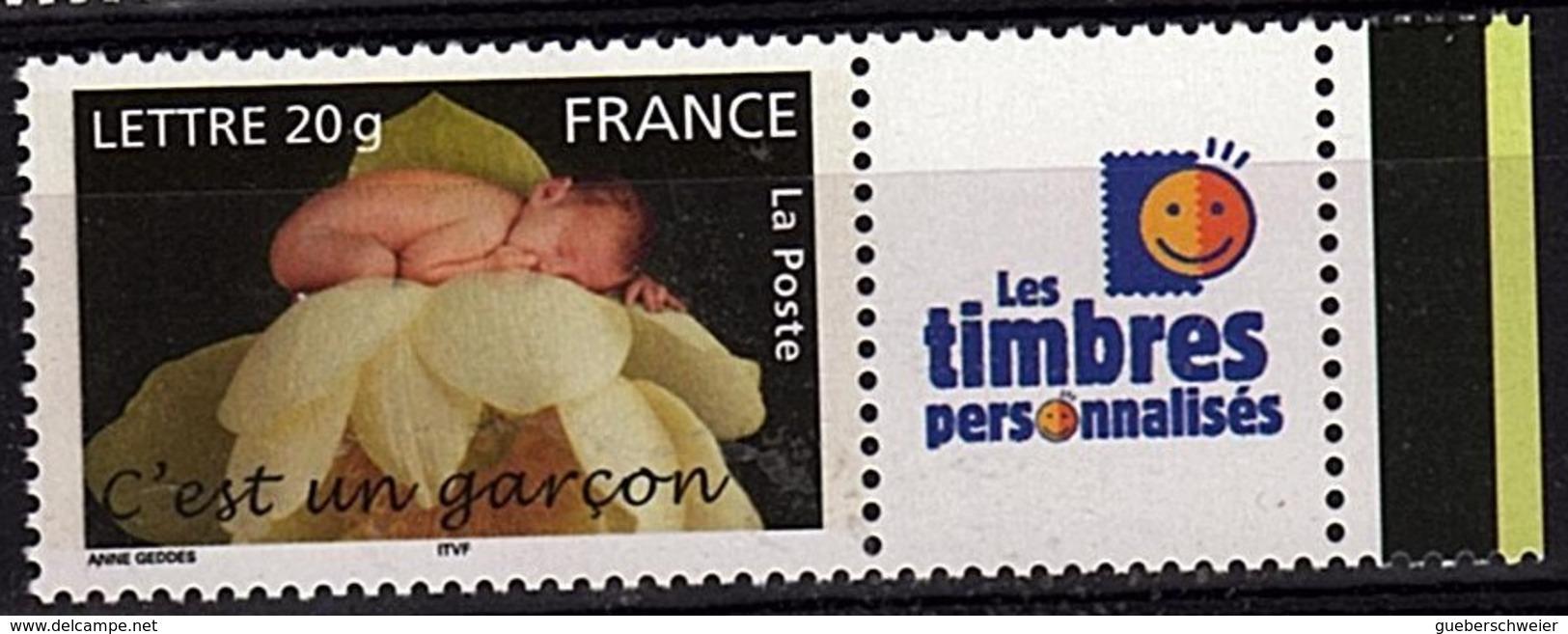 PERS 33 - FRANCE Les Timbres Personnalisés N° 3805A C'est Un Garçon - Personnalisés