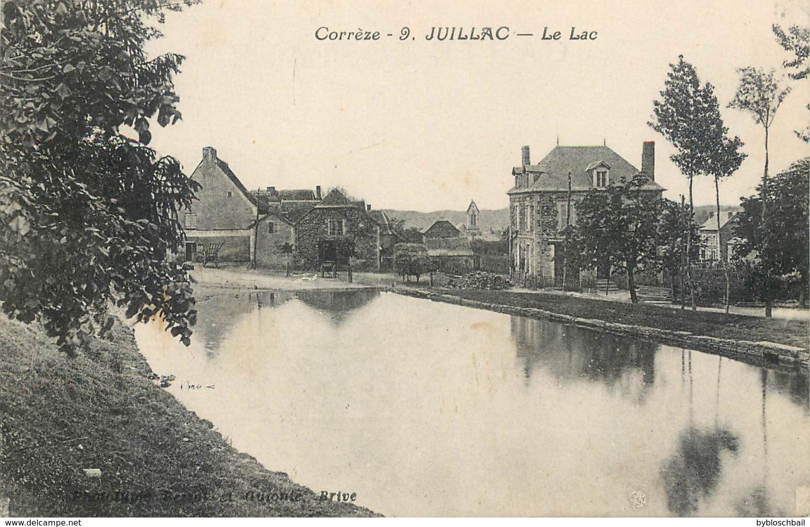CPA 19 Corrèze Juillac Le Lac - Juillac