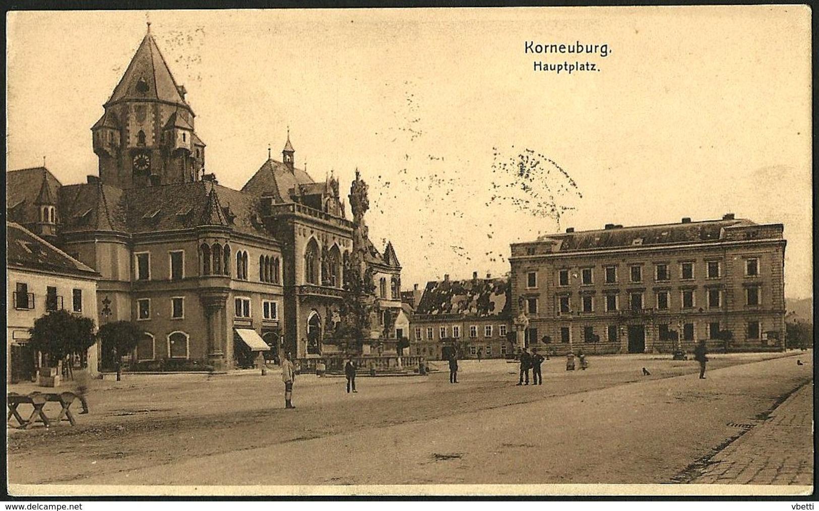 Österreich / Austria: Korneuburg, Hauptplatz  1914 - Korneuburg