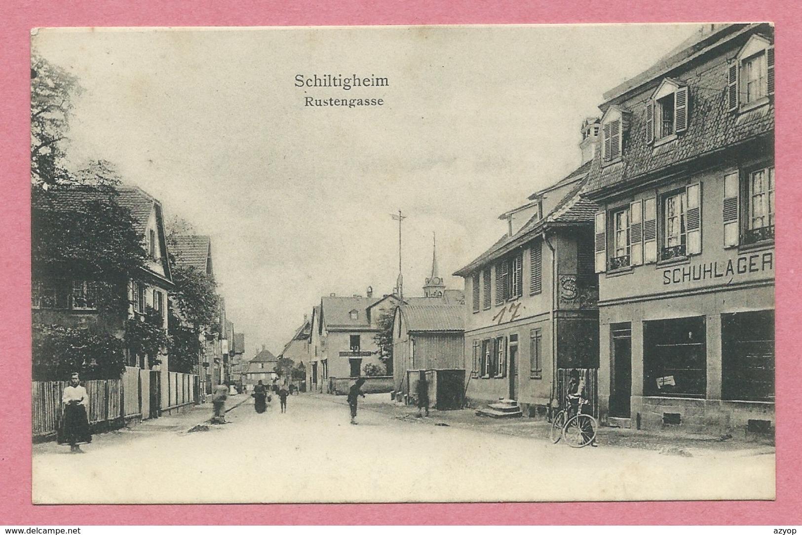 67 - SCHILTIGHEIM - Rustengasse - Schiltigheim