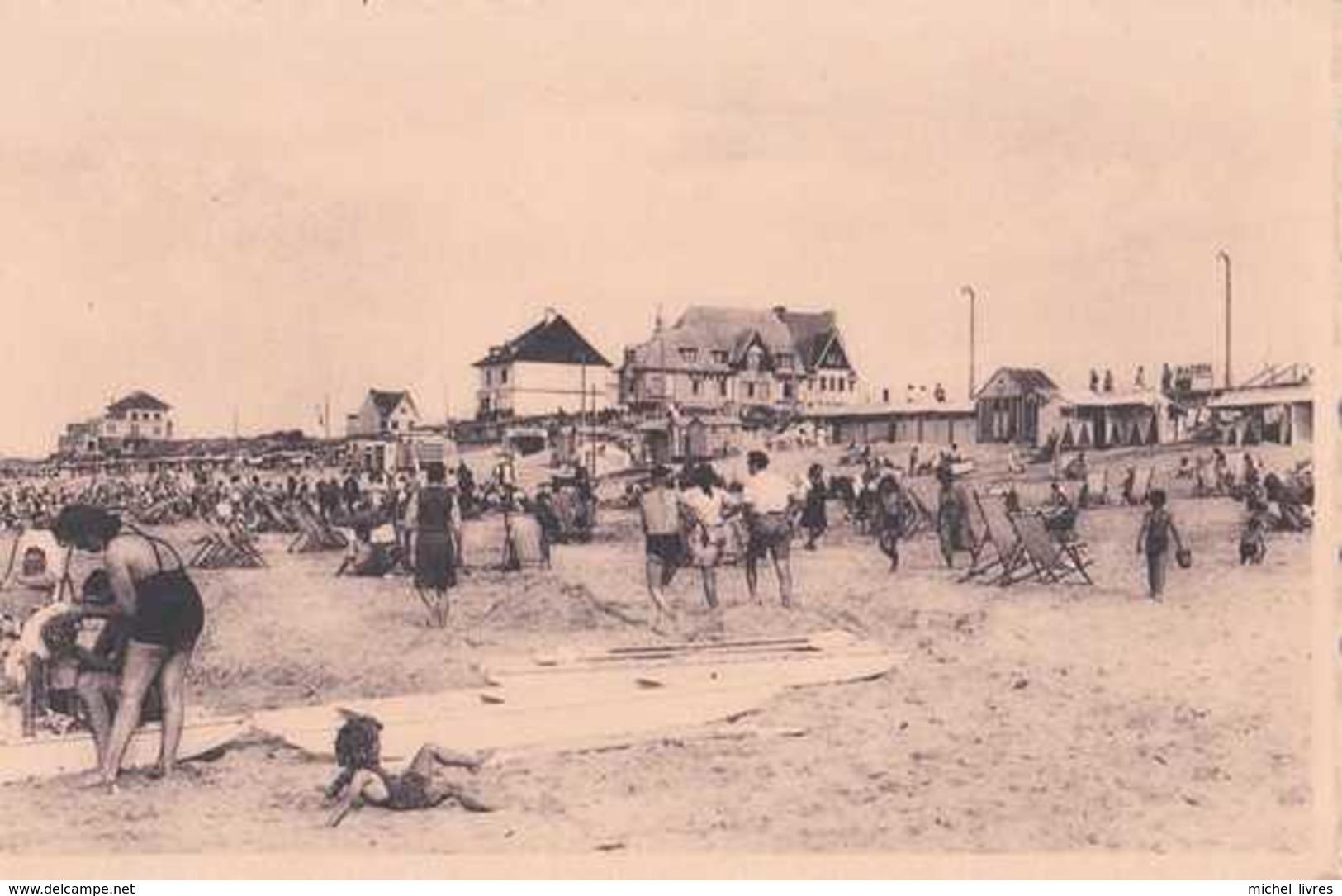 De Haan - Den Haan - Coq Sur Mer - Het Strand - La Plage - Strand Hotel - Pas Circulé - Animée - Nels - TBE - De Haan