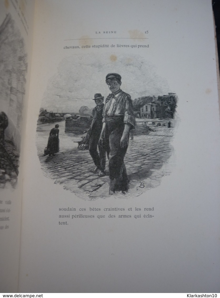 Le Bambou, Périodique Illustré VIII: La Seine (suite)./ Dentu, éditeur - Books, Magazines, Comics