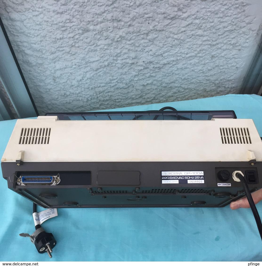 Vintage - Imprimante Seikosha GP-100 A Mark II - Sciences & Technique