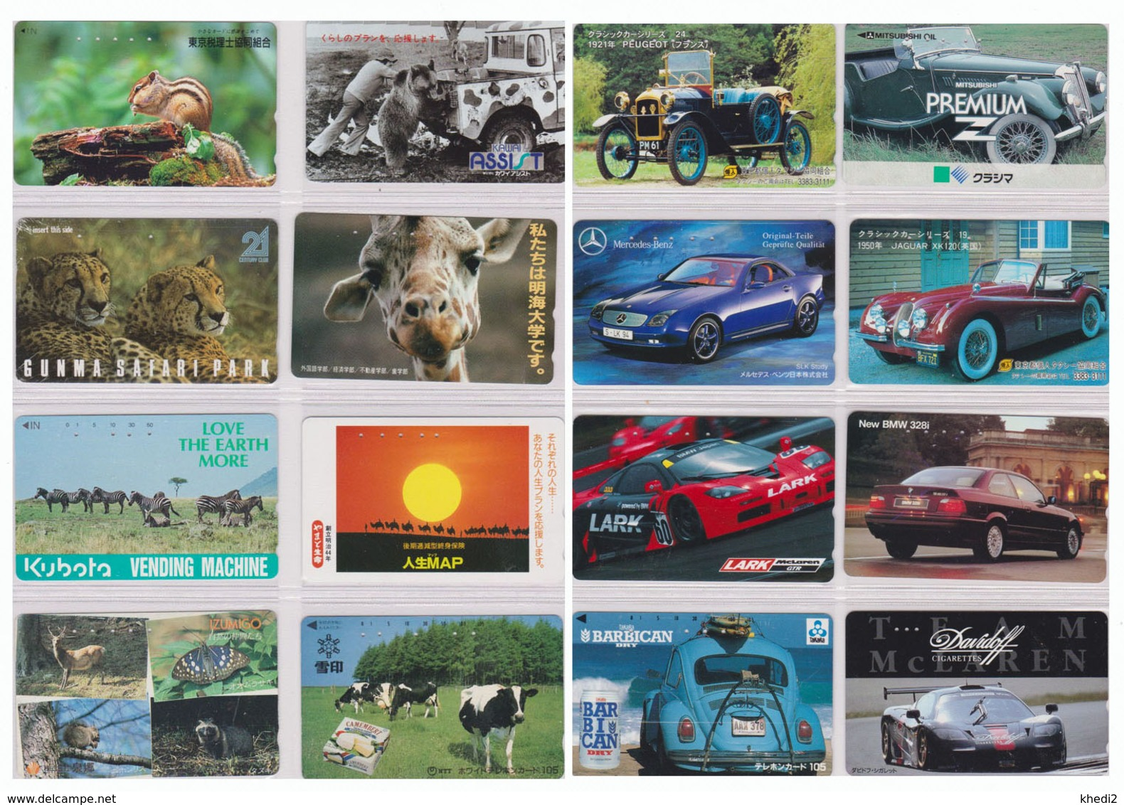 JOLI LOT Collection De + De 2000 TELECARTES Japon - MANY PRIVATE - Japan Phonecards - THEMES TRES VARIES - 96 PHOTOS - Japan