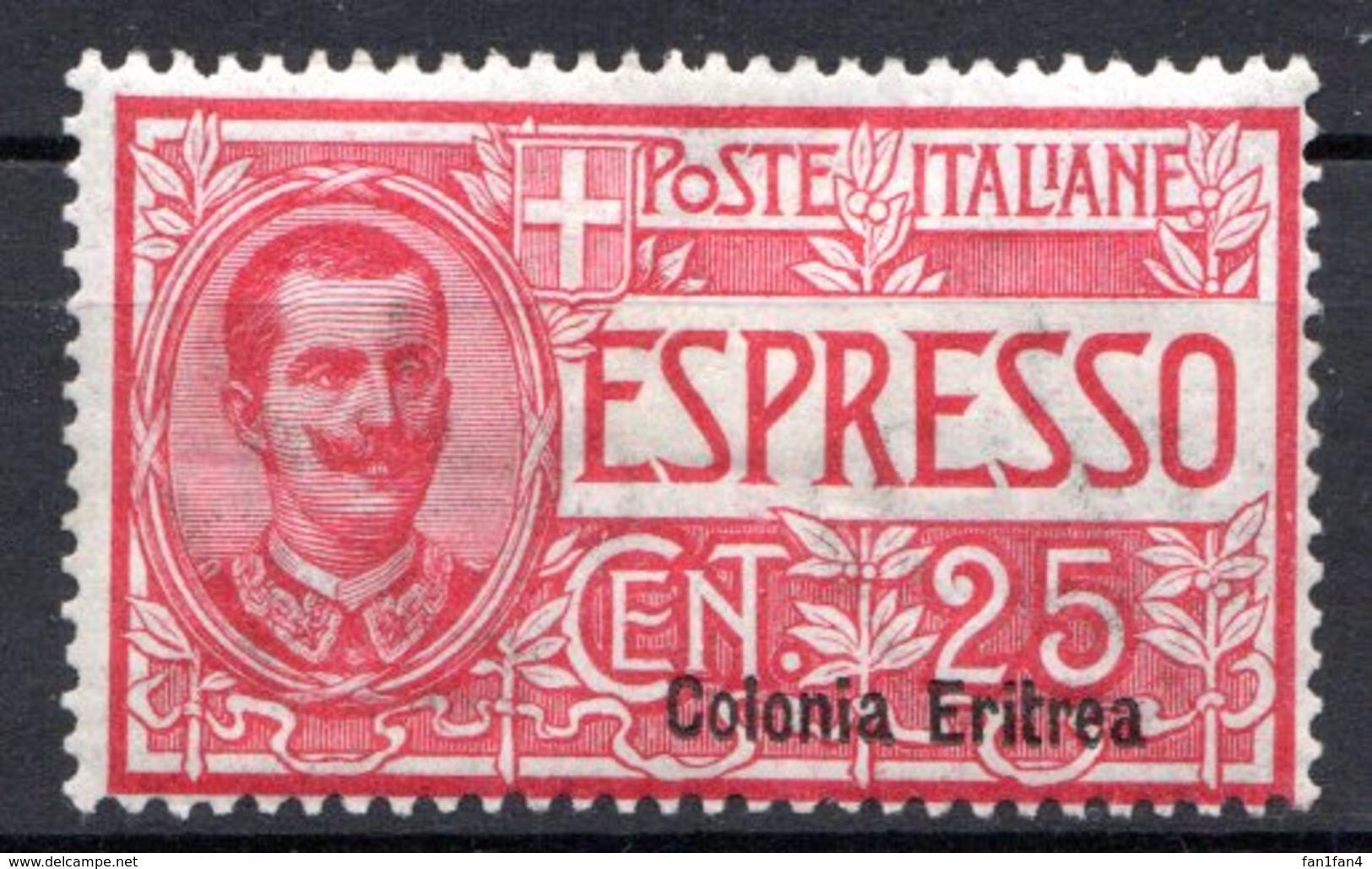 ERYTHREE (Colonie Italienne) - 1907-20 - Express - N° 1 - 25 C. Rouge - (Timbre Express D'Italie De 1903-20) - Eritrea