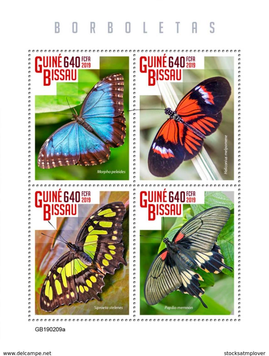 Guinea Bissau   2019  Fauna Butterflies S201903 - Guinea-Bissau