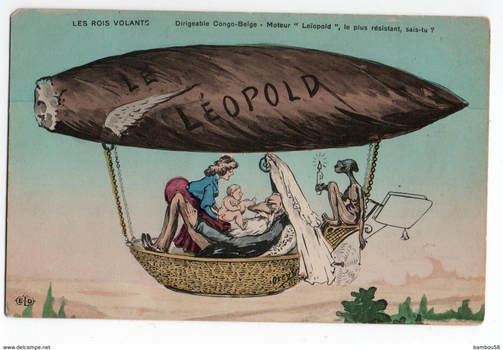 CIGARE * LES ROIS VOLANTS * DIDIGEABLE CONGO-BELGE * LEÎOPOLD * ELD * ORENS - Orens