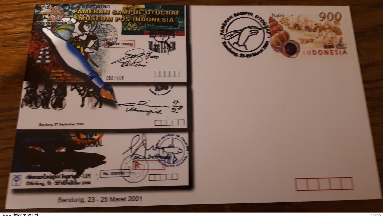 Indonesia / FDC / Postal Museum - Indonesia