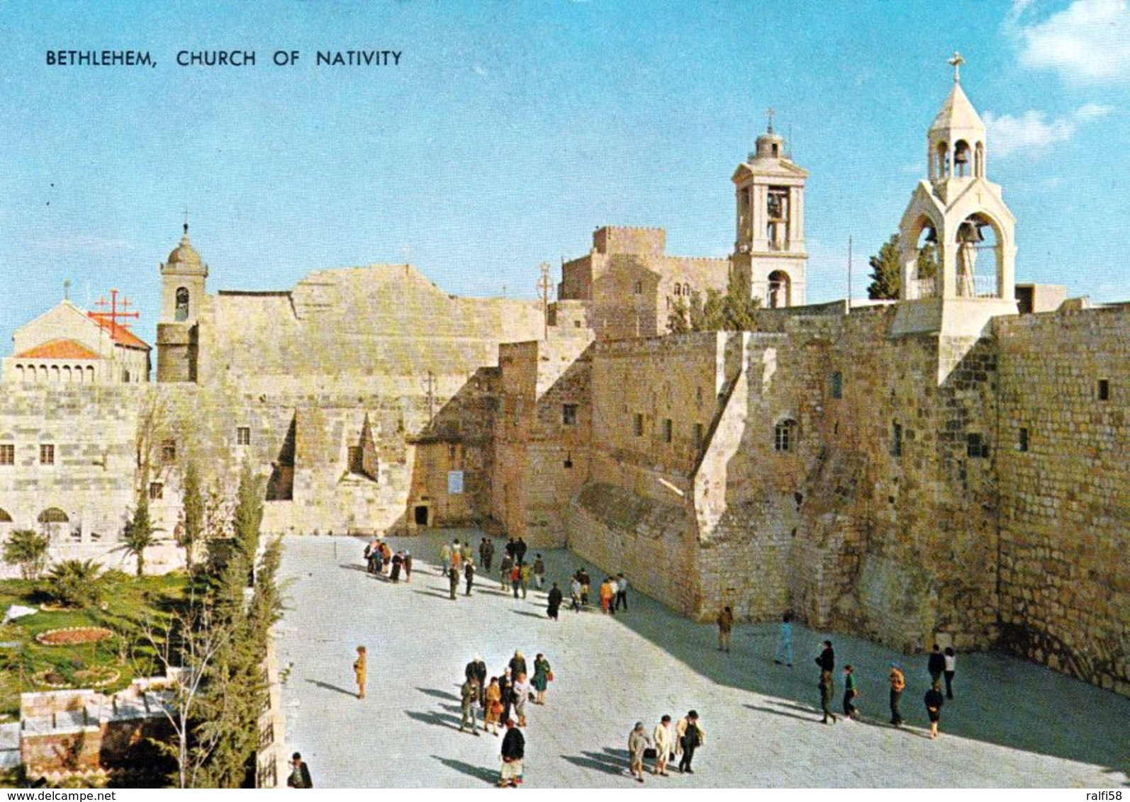 1 AK Palästina * Bethlehem - Church Of Nativity, Die Geburtskirche - Seit 2012 UNESCO Weltkulturerbe * - Palästina