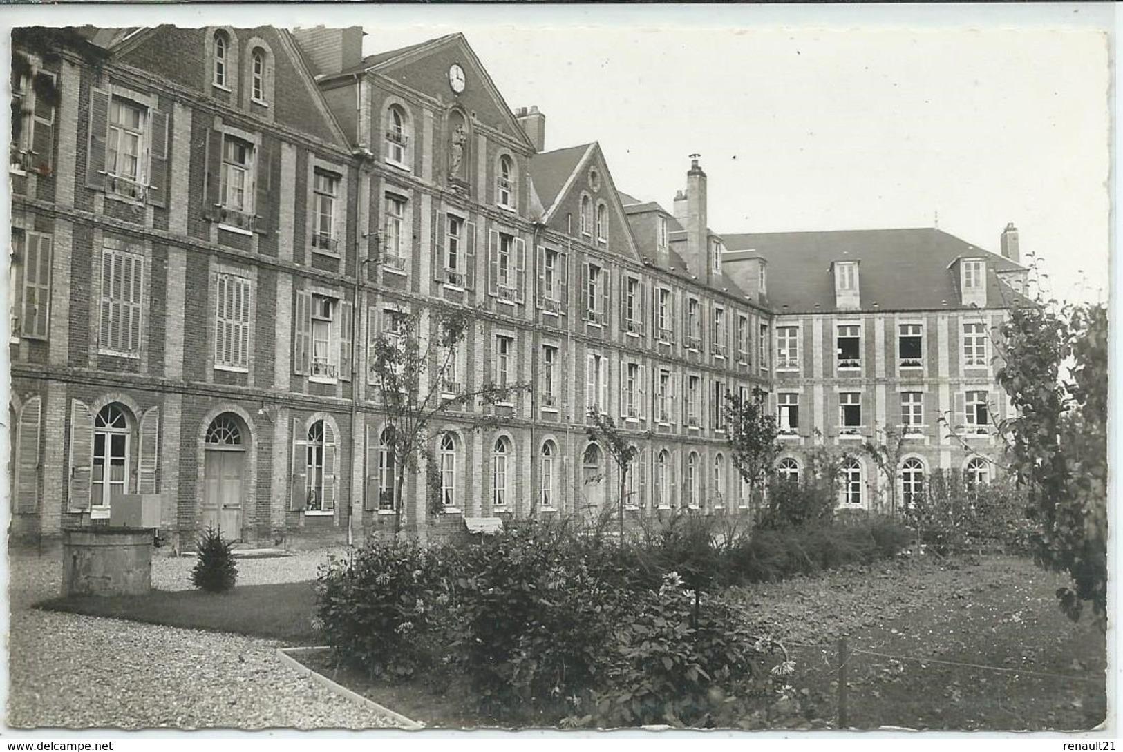 Yvetot-Maison Des Sacrés-Cœurs Et De L'Adoration-Façade Sur Le Jardin (CPSM) - Yvetot