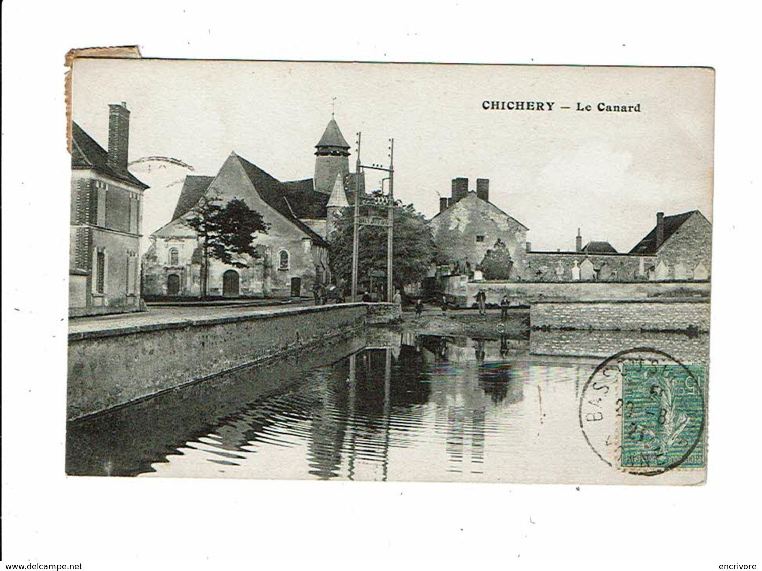 Cpa CHICHERY Le Canard - Autres Communes