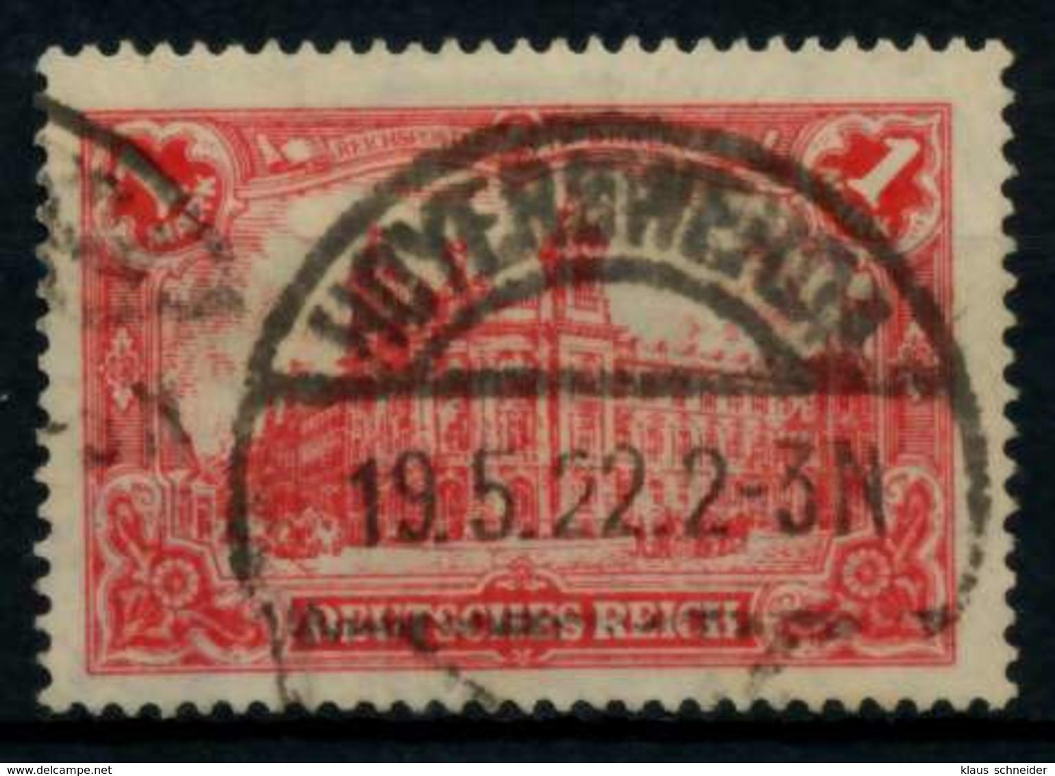 D-REICH INFLA Nr A 113a Gestempelt X719086 - Gebraucht