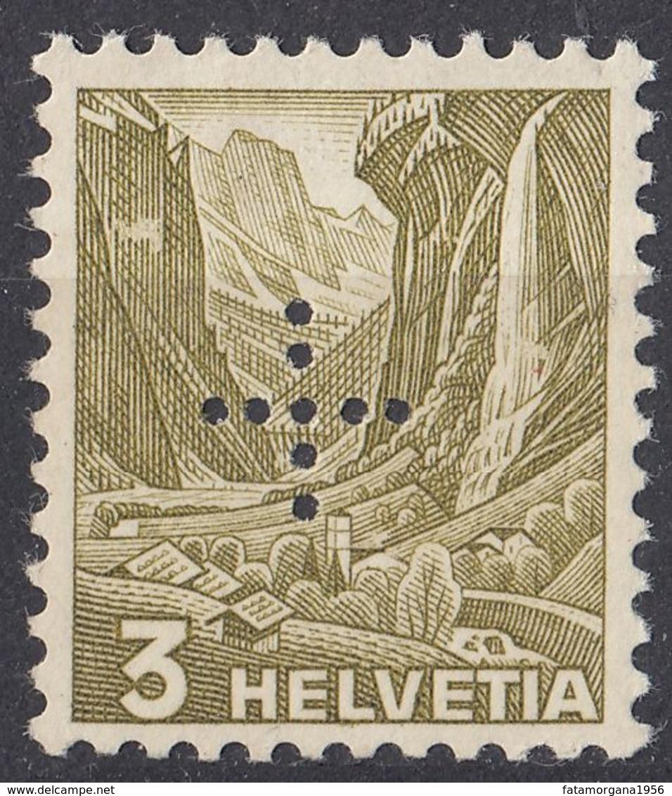HELVETIA - SUISSE - SVIZZERA - 1937- Servizio Yvert 132 Nuovo MNH. - Servizio