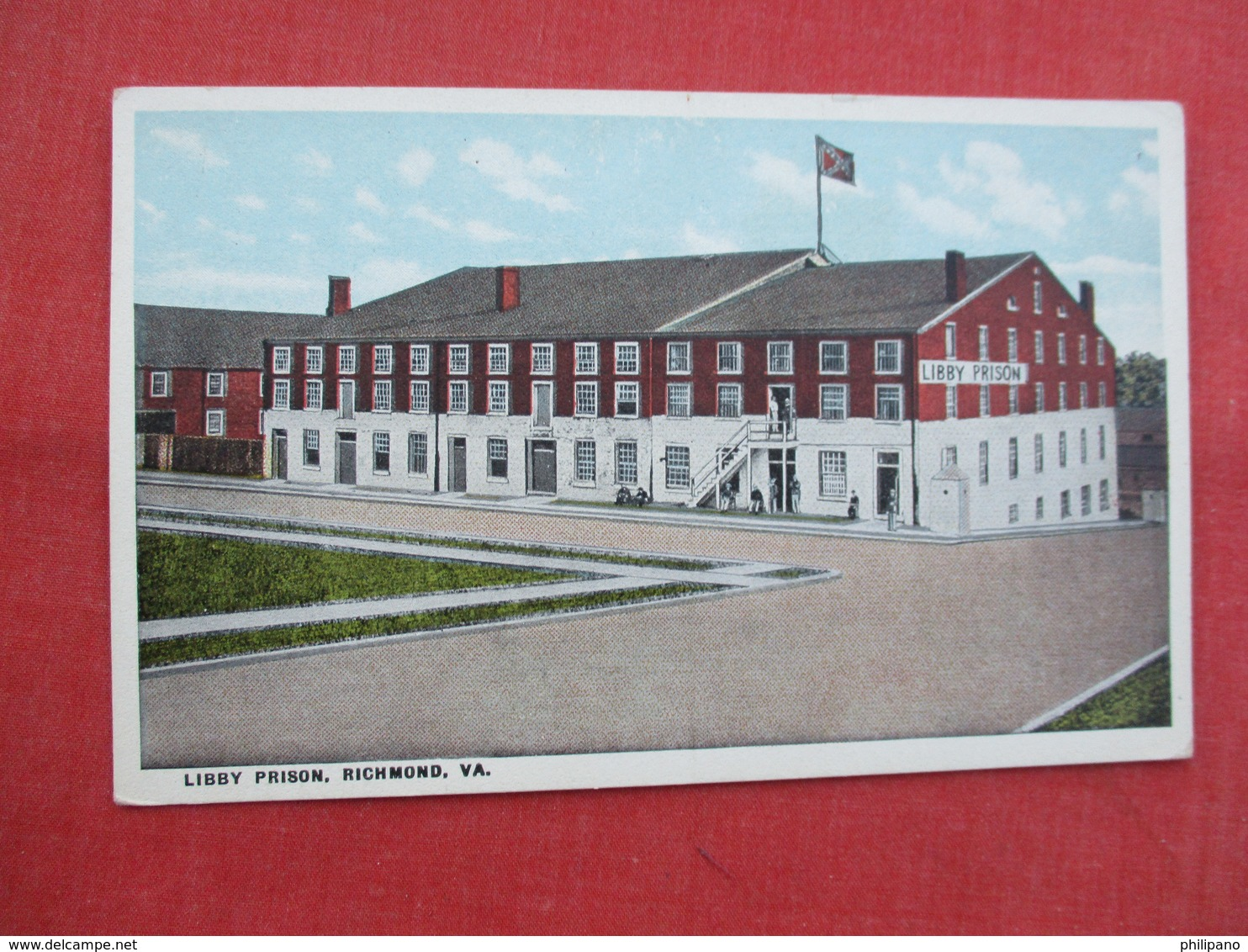 Libby Prison  Richmond Va.   Ref  3458 - Gevangenis