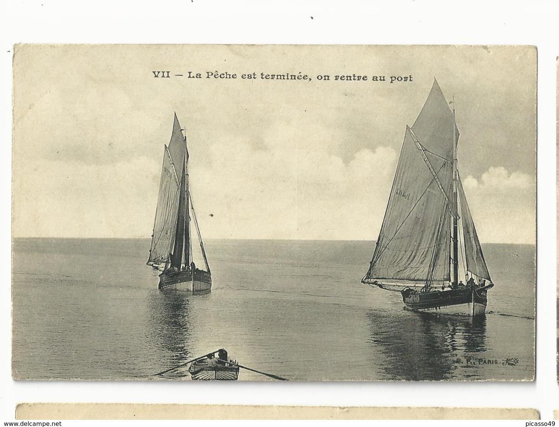 La Pêche Est Terminée , On Rentre Au Port - France