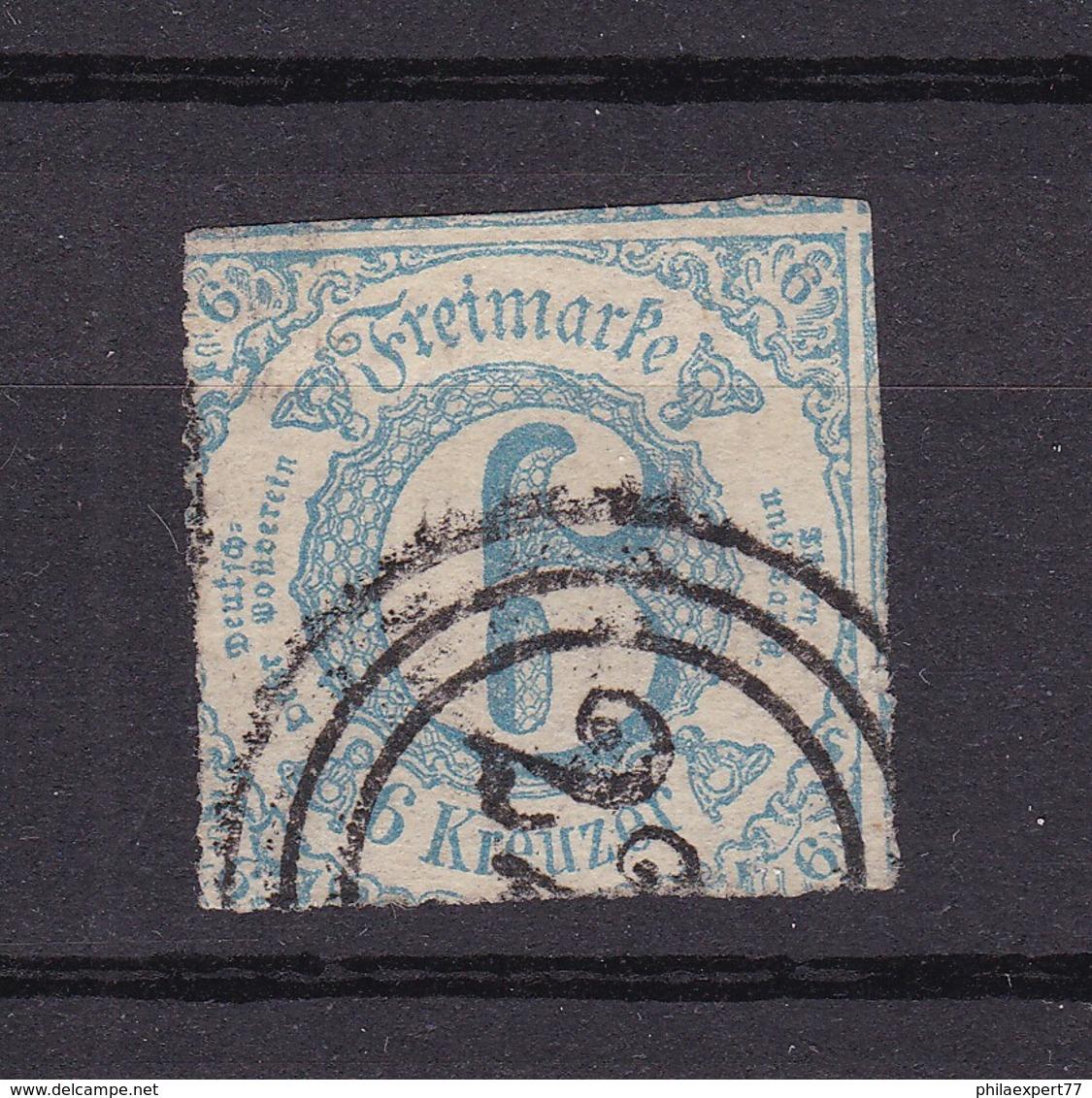 Thurn Und Taxis - 1865 - Michel Nr. 43 - Gepr. - 25 Euro - Thurn Und Taxis
