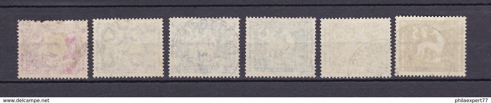 Wuerttemberg - Dienstmarken - 1920 - Michel Nr. 144/149 - Wuerttemberg
