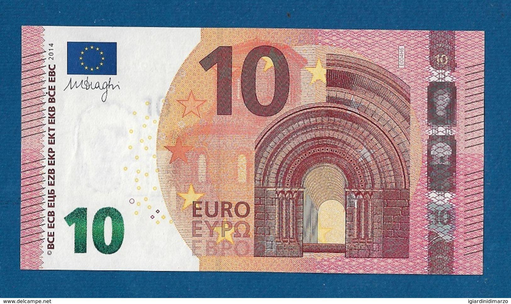 SLOVACCHIA  - 2014 - BANCONOTA DA 10 EURO SERIE EA (E004H6) - NON CIRCOLATA (FDS-UNC) - IN OTTIME CONDIZIONI. - EURO