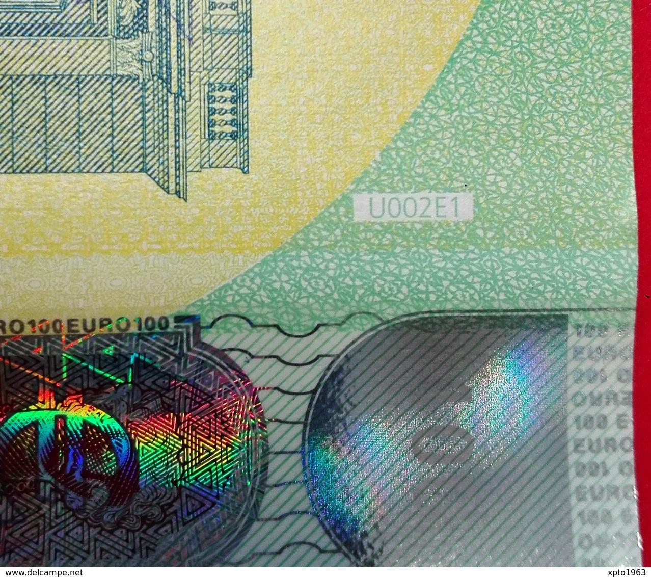 FRANCE 100 EURO - U002E1 - CHARGE 03 - Série Europa - U002 E1 - UA4039727844 - UNC NEUF - EURO
