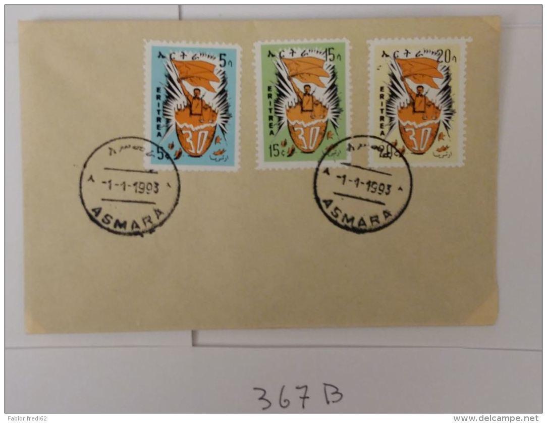 BUSTA ANNULLO SPECIALE ASMARA ERITREA 1993 (367B - Eritrea